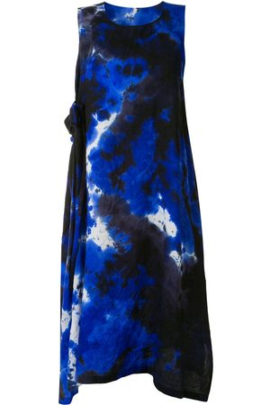 Y'S Women Sleeveless Dresses - Sleeveless tie-dye dress