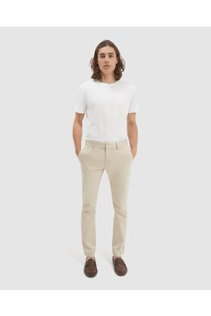 SABA Baxter Slim Chino Pants - Pants (Bone) Baxter Slim Chino Pants