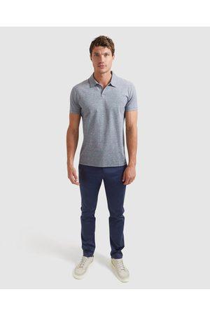 SABA Clifford Mercerised Polo - Shirts & Polos (Navy) Clifford Mercerised Polo