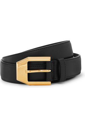 Gucci Men Belts - 3cm Leather Belt