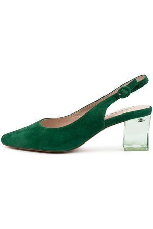 Django & Juliette Women Heels - Hinnis Emerald Shoes Womens Shoes Dress Heeled Shoes
