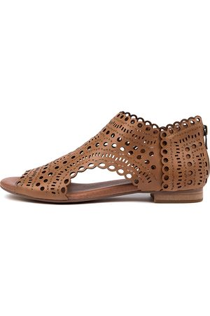 Django & Juliette Women Sandals - Powers Djl Dk Tan Sandals Womens Shoes Casual Sandals Flat Sandals
