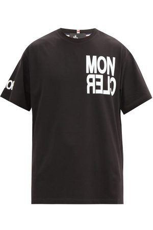 Moncler Logo-print Cotton T-shirt - Mens