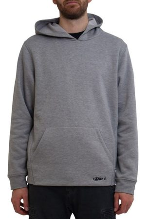 AND1 Fleece Mens Hoodie With Pocket - Marle