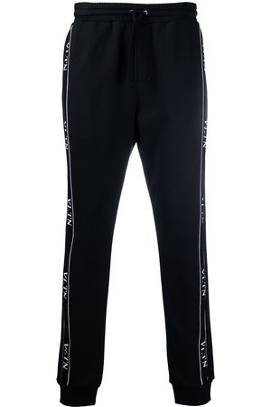 VALENTINO Men Joggers - Logo tape track trousers