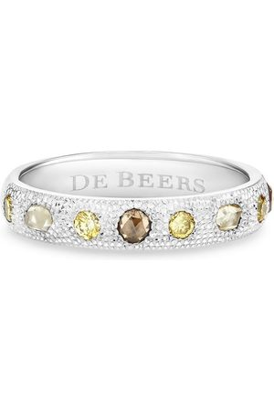 De Beers Women Rings - 18kt white gold Talisman diamond band ring
