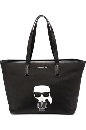 Karl Lagerfeld Women Tote Bags - Karl motif print tote