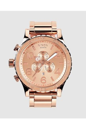 Nixon 51 30 Chrono Watch - Watches (All Rose ) 51-30 Chrono Watch