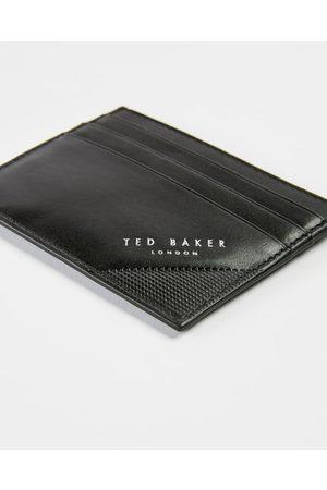 Ted Baker Men Wallets - Embossed Corner Leather Cardholder