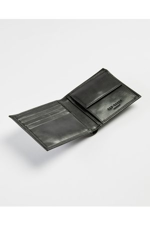 Ted Baker Men Wallets - Leather Bifold Wallet With Coin Pocket