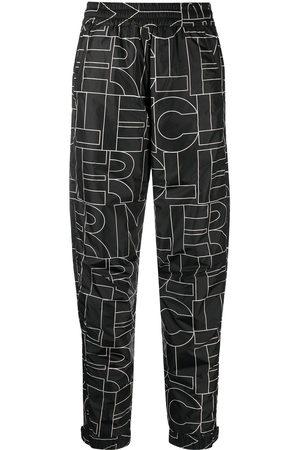 Moncler Monogram logo straight leg trousers