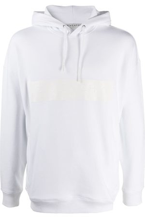 Givenchy Men Hoodies - Logo print hooded sweatshirt