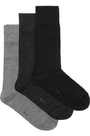 Falke Pack Of Three Happy Cotton-blend Socks - Mens - Multi
