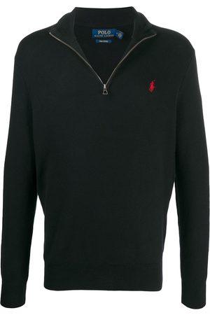 Polo Ralph Lauren Men Sweaters - Half-zip wool jumper