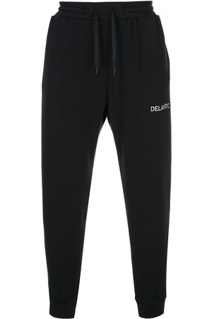 Delantic Logo print trackpants