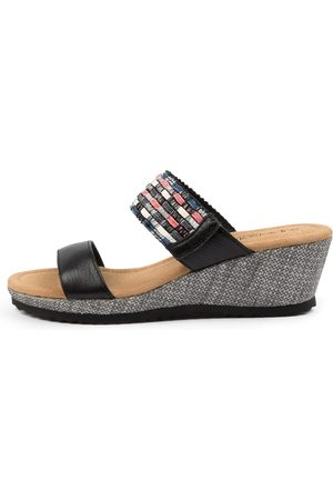 SUPERSOFT Billa Su Multi Sandals Womens Shoes Casual Heeled Sandals