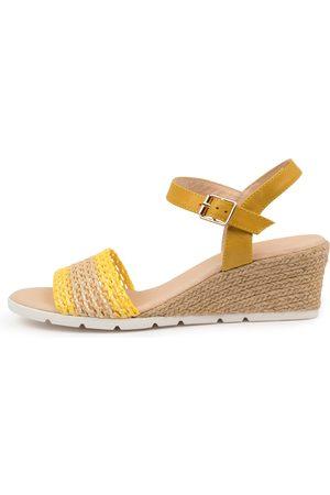 Django & Juliette Doshia Dj & Natural Sandals Womens Shoes Casual Heeled Sandals
