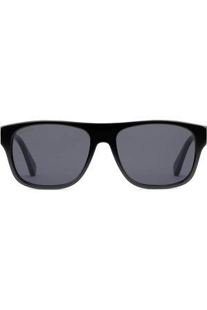 Gucci Men Sunglasses - Rectangular-frame acetate sunglasses