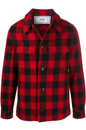 Ami Men Business - Check button jacket