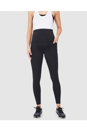 Soon Maternity Women Leggings - Sage Side Pocket Active Leggings - Full Tights Sage Side Pocket Active Leggings
