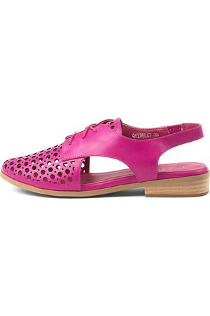 I LOVE BILLY Quibblet Fuchsia Shoes Womens Shoes Casual Flat Shoes