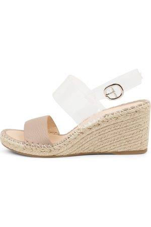 Top end Gaga To Dk Nude Clear Sandals Womens Shoes Casual Heeled Sandals