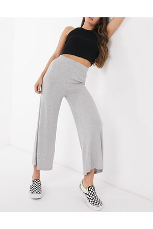 Cotton On Cotton: On ribbed culotte in grey