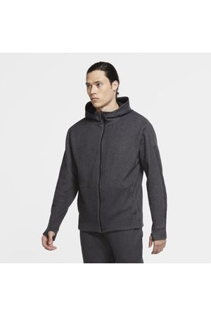 Nike Men Sweatshirts - Yoga Men's Full-Zip Hoodie