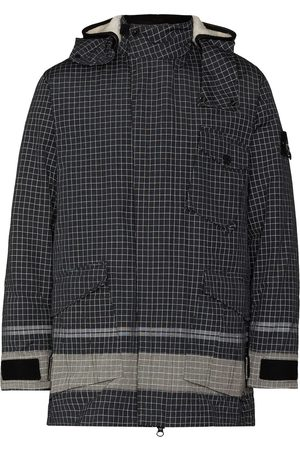 Stone Island Special checked hooded jacket