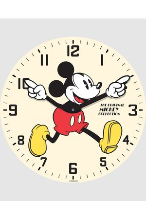 Disney Watches - Mickey Glass Wall Clock - Watches Mickey Glass Wall Clock