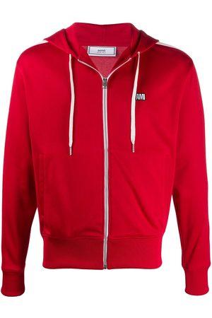 Ami Logo patch hoodie