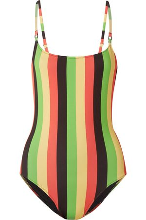 Solid One-piece swimsuits
