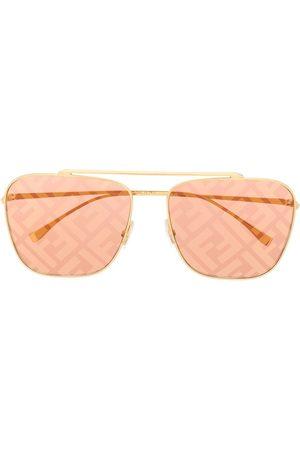 Fendi Sunglasses - Eyeline aviator-frame sunglasses