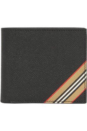 Burberry Icon stripe bi-fold wallet