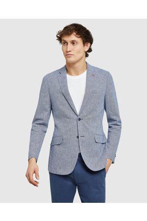 Oxford Milton Linen Blend Blazer - Blazers Milton Linen Blend Blazer