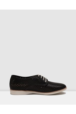 Rollie Women Loafers - Derby Punch Shoes - Flats Derby Punch Shoes