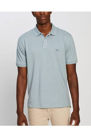 Rodd & Gunn The Gunn Original Fit Polo - Shirts & Polos (Rain) The Gunn Original Fit Polo