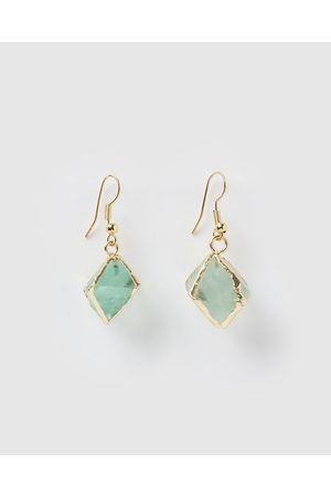 Miz Casa and Co Mini Trust Earrings - Jewellery ( Jade) Mini Trust Earrings