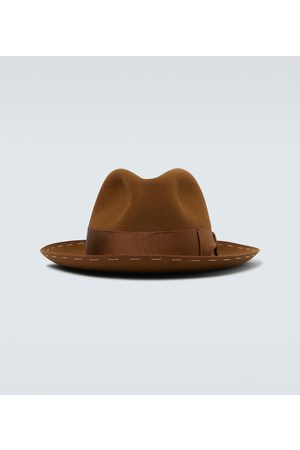 Borsalino Decor band fedora hat