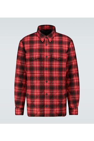 Moncler Briere checked jacket