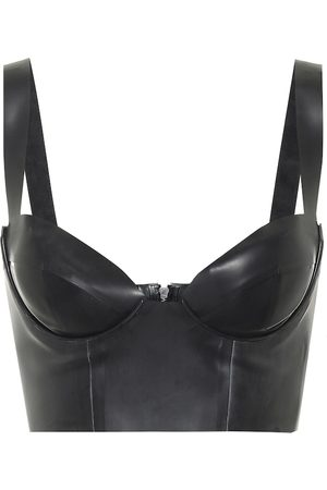 Saint Laurent Latex bustier