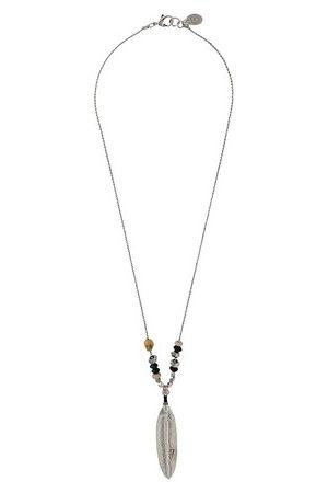 Gas Bijoux Men Necklaces - Plume grave necklace