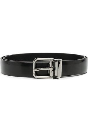 Dolce & Gabbana Men Belts - Logo-engraved buckle belt