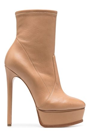 Casadei Platform calf boots
