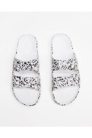 Freedom Moses Slides Unisex - Casual Shoes ( Splatter) Slides - Unisex