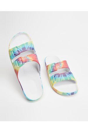 Freedom Moses Sandals - Slides Unisex - Casual Shoes (Hendrix) Slides - Unisex