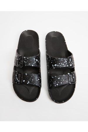 Freedom Moses Sandals - Slides Unisex - Casual Shoes ( Splatter) Slides - Unisex