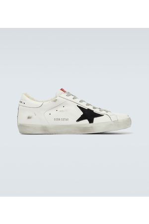 Golden Goose Superstar shearling sneakers