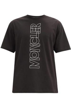 Moncler Logo-print Cotton-jersey T-shirt - Mens