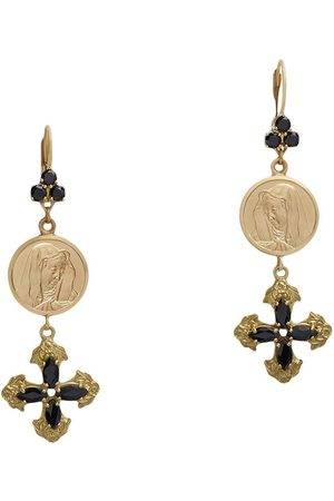Dolce & Gabbana 18kt yellow sapphire drop earrings